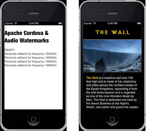 Audio Watermark Enabled Applications