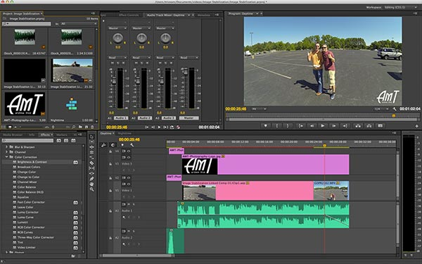 Editing Video in Premiere Pro CC