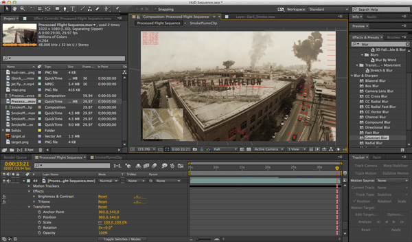Editing in Adobe After Effects