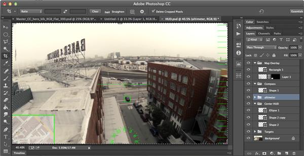 HUD Design in Adobe Photoshop