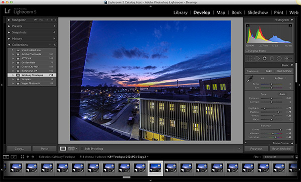 Editing Photos with Lightroom