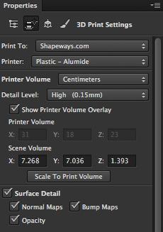 3D Print Properties