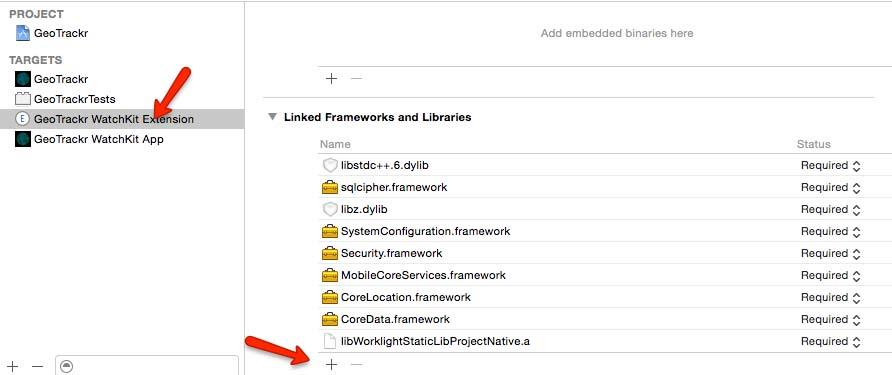 Add MobileFirst Frameworks and Dependencies